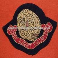 volunteers blazer chest badge