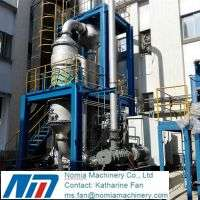 Mvr evaporator waste water treatment desalination juice concentrate sugar syrup dairy  Manufacturer