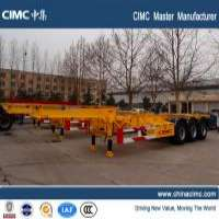 CIMC skeleton container trailer Manufacturer