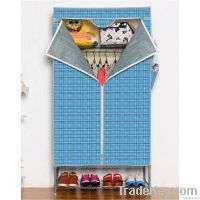wardrobe cabinet Oxford cloth cover and steel mesh layer Manufacturer