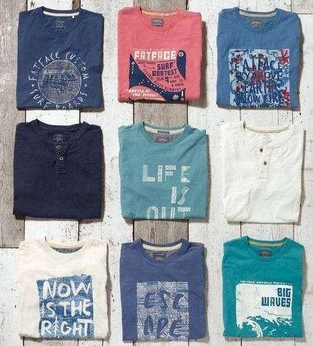 Men's Printed Tops