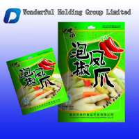 Chicken footfeet snack packaging bag clear window Manufacturer
