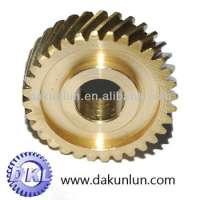 Brass helical gears