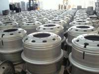 heavy truck steel wheel rims