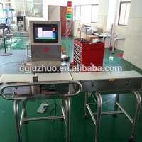conveyor food weighing machine JZW1200g Manufacturer
