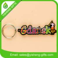 3D PVC giveaway acrylic key chain keychain Manufacturer
