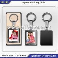 Square Metal Key Chain Manufacturer