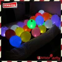 led balloon lights decoration 5pack multicolor balloon led party Manufacturer