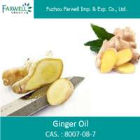 Steam Distilled Ginger Oil Manufacturer