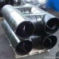 Pipe Tee Butt welded tee Carbon steel Tee stainless steel Tee Alloy Te Manufacturer