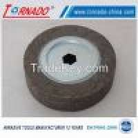 "Tornado 10"" 250mm aluminum oxide flap wheel polishing Manufacturer"