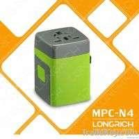 LONGRICH vip corporate gifts TRAVEL PLUG 2 USB Port  Manufacturer