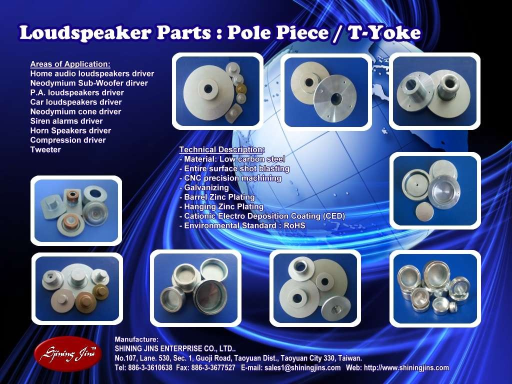 Speakers T-Yoke
