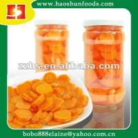 Canned Baby Carrot in slicces