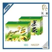 Health care green tea ginger tea Manufacturer