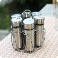 glass spice jar metal stand  Manufacturer