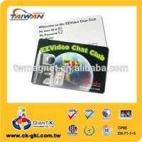 Customized black membership VIP plastic id pvc card Manufacturer
