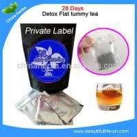 Green herbal flavor detox tea