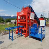 Manual concrete block making machine Manufacturer