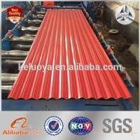 metal Roofing Prepainted Corrugated Sheet