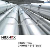 Industrial chimney system