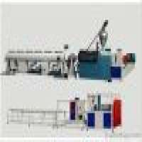 PVC Pipe conical 2 screw extruder line Manufacturer