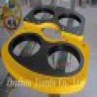 IHI Tungsten Carbide Concrete Pump Wear Plates in  Manufacturer