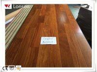 Solid cumaru wood parquet flooring