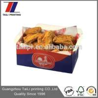 Printed Fried Chicken Wing Packaging Boxes Manufacturer