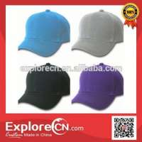 Snapback plain baseball cap embroidery Manufacturer