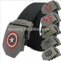 metal canvas belt buckle