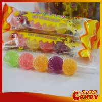 colorful Kabob yummy jelly gummy candystick sweets