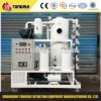 Double Stage Vacuum Machines Oil Purifier Manufacturer