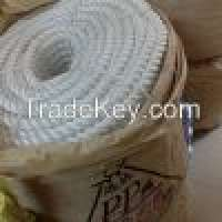 white Polyester and Polypropylene twist Rope Manufacturer