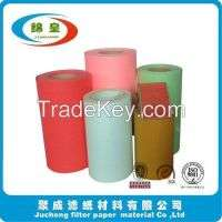 Auto industry filter material wood pulp filter paper Manufacturer