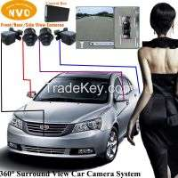 360 Degree Around View Rear View Camera System DVR Function Manufacturer