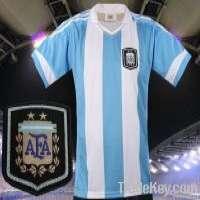 Argentina soccer jersey Home Manufacturer