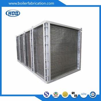 Coal Fired Steam Boiler Air Preheater Plate Type Air Preheater High ...