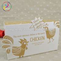 take away paper box fried chicken wing packaging Manufacturer