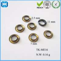 Clothes Round Grommets Metal Eyelets