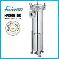 stainless steel high pressure bag filter housing