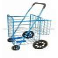 double basket grocery luggage cart Manufacturer