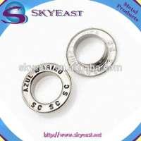 Nickel Decorative Brass Flat Eyelets