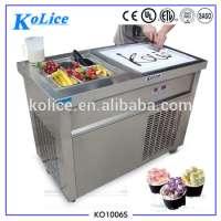Fried Ice Cream Machine Roll Fruit Fried Ice Cream Manufacturer