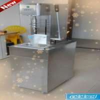 CE mobile stand swirl fruit ice cream mixing machine Manufacturer