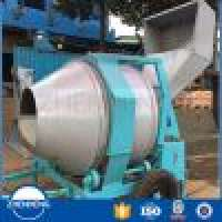 Small Hydraulic JZR350 Concrete Mixer  Manufacturer