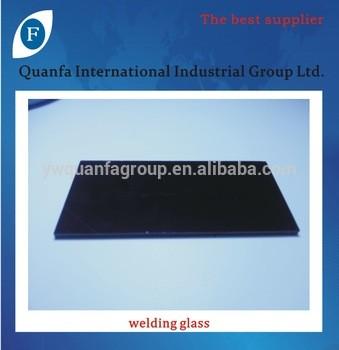 welding glass