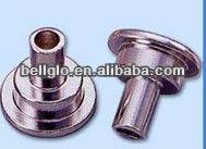 Copper tubular rivets