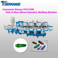 Automatic Rotary PVCTPR Sole & Shoe Injection Molding Machine Manufacturer