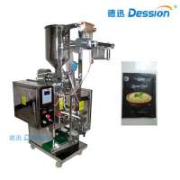 Curd Packing Machine With Bag Filling And Packaging Machine Measured In Grams